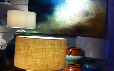 Vié Il.luminació exposa i il.lumina les obres de l'artista local David Papell